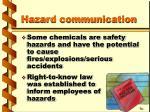 hazard communication18