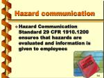 hazard communication19