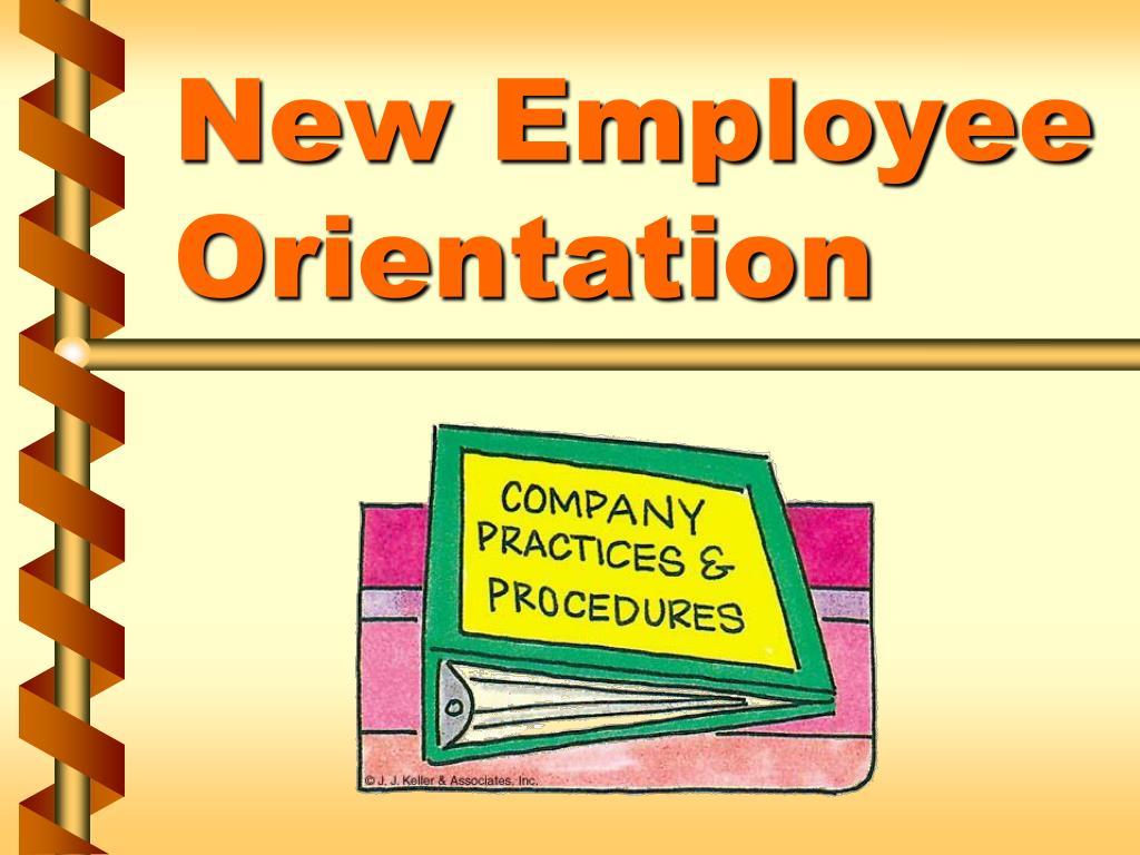 new employee orientation l.
