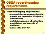 osha recordkeeping requirements12