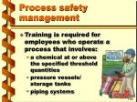 process safety management30