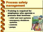 process safety management31