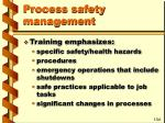 process safety management32