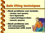safe lifting techniques34