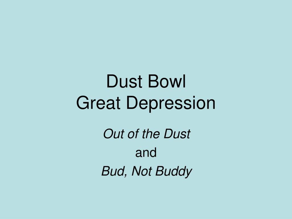 dust bowl great depression l.