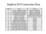implicit i o connection data