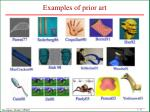 examples of prior art
