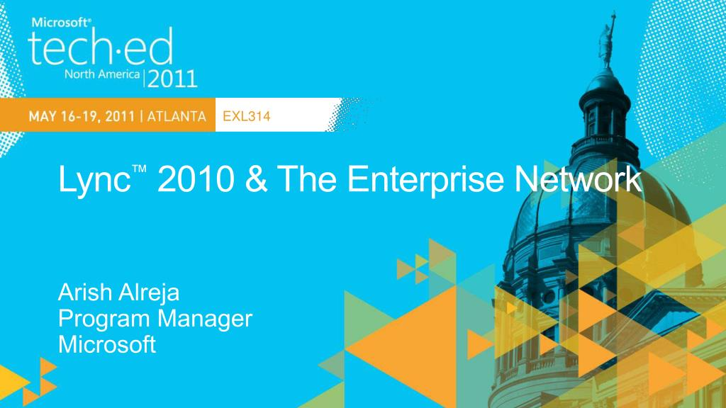 lync 2010 the enterprise network l.
