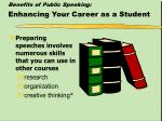 benefits of public speaking enhancing your career as a student