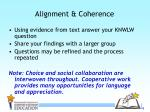 alignment coherence