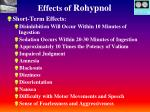 effects of rohypnol40