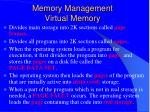 memory management virtual memory37