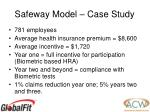 safeway model case study