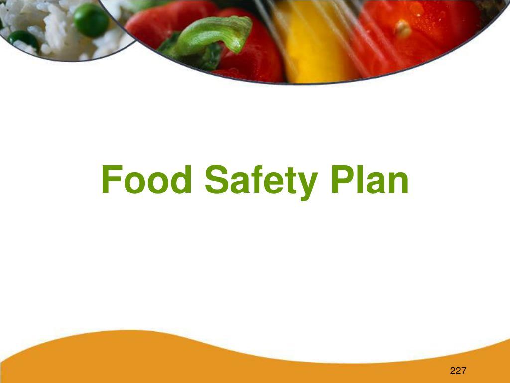 food safety plan l.
