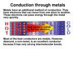 conduction through metals