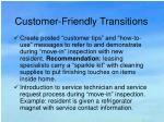 customer friendly transitions39