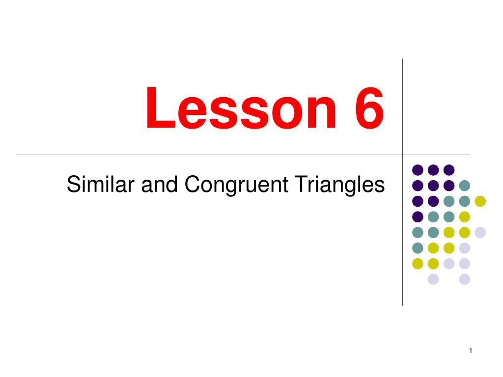 lesson 6 l.