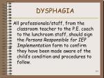 dysphagia131