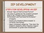 iep development63