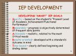 iep development66