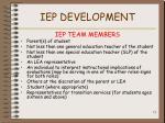 iep development71