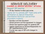 service delivery76