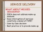 service delivery77