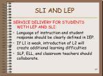 sli and lep107