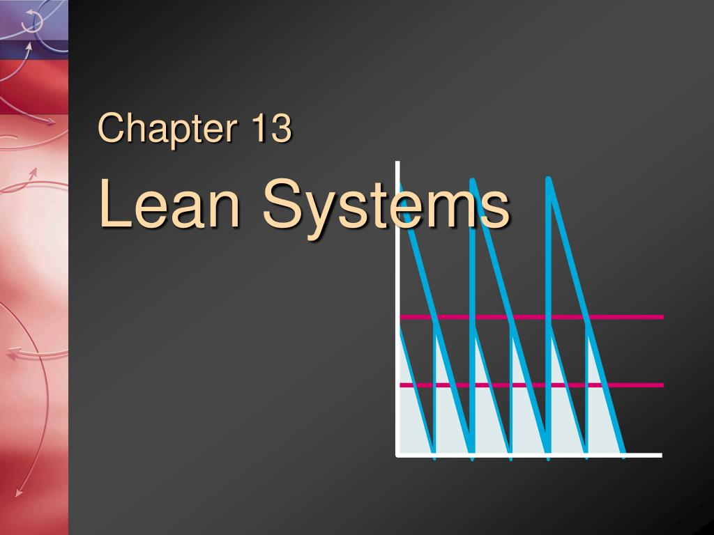 chapter 13 lean systems l.