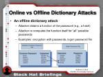 online vs offline dictionary attacks6