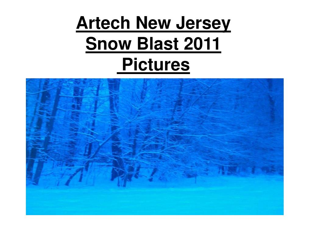 artech new jersey snow blast 2011 pictures l.