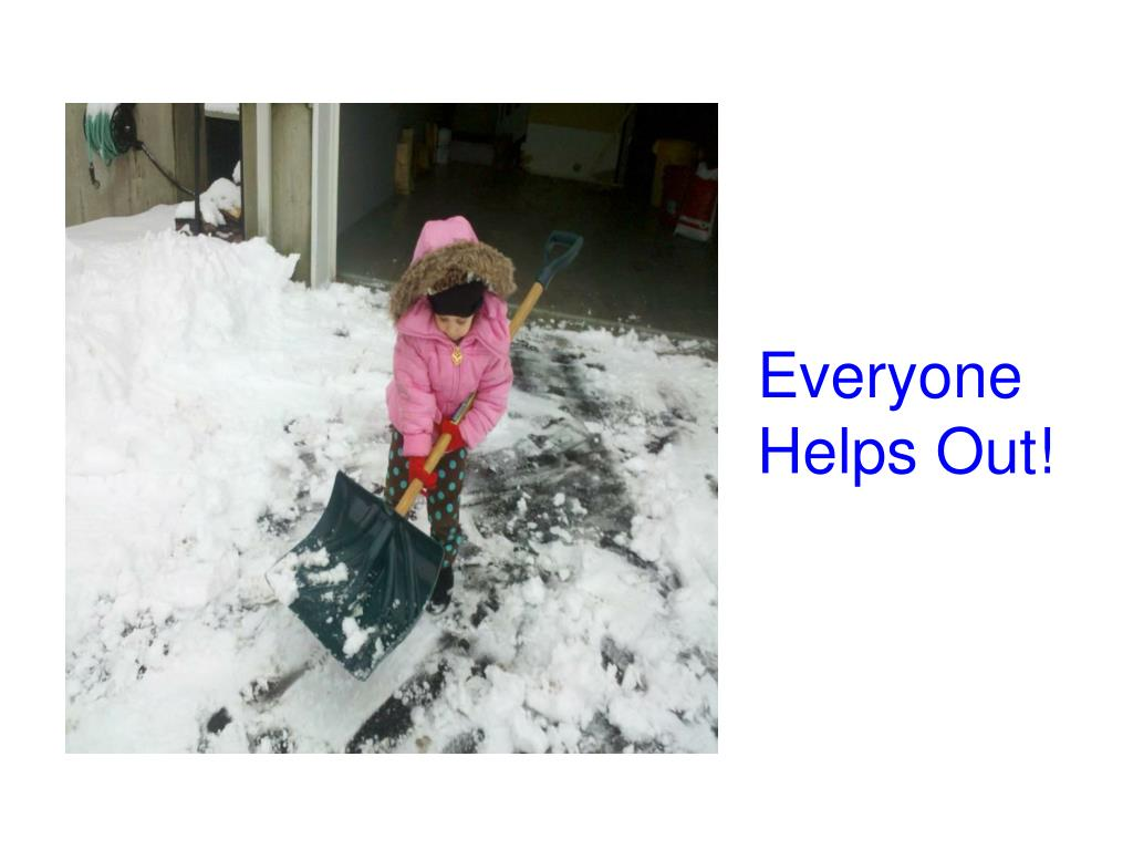 Everyone Helps Out!