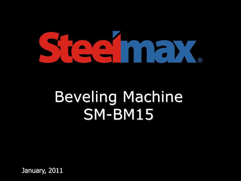 beveling machine sm bm 15 l.