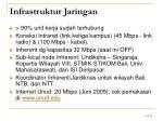 infrastruktur jaringan