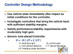 controller design methodology