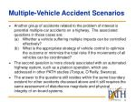 multiple vehicle accident scenarios