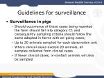 guidelines for surveillance25