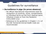guidelines for surveillance26