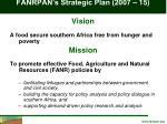 fanrpan s strategic plan 2007 15