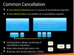 common cancellation