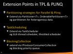 extension points in tpl plinq