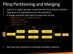 plinq partitioning and merging
