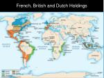 french british and dutch holdings