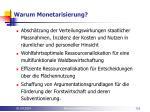 warum monetarisierung116