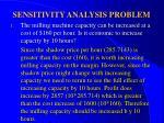 sensitivity analysis problem34