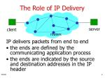 the role of ip delivery