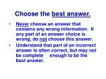 choose the best answer8