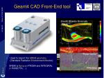 geant4 cad front end tool