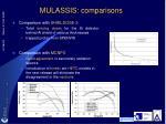 mulassis comparisons