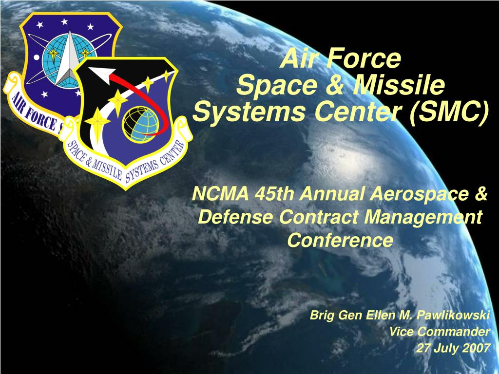air force space missile systems center smc l.